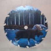Moose Scenery